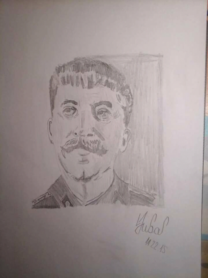 Joseph Stalin by IgorIgy87